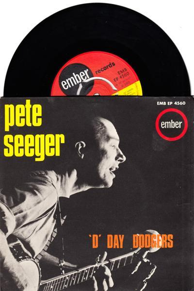 D Day Dodgers/ 1965 Uk 5 Track Ep With Cover