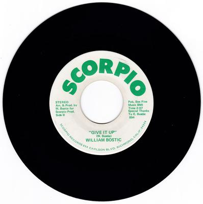William Bostic - Give It Up / World - Scorpio 894