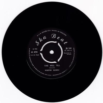 Winston Samuels - Time Will Tell / I'm Sorry - Ska Beat JB 244