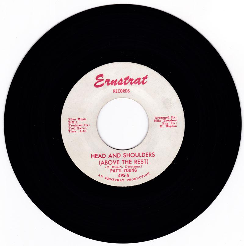 Patti Young - Head And Shoulders (Above The Rest) / The Valiant Kind - Ernstrat 495