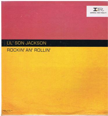 Lil' Son Jackson - Rockin' An' Rollin' / 1961 original USA press - Imperial 9142