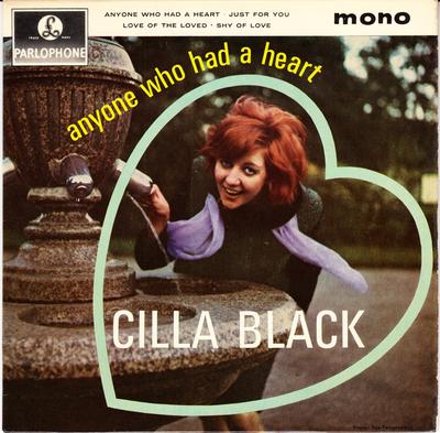 Cilla Black - Anyone Who Had A Heart EP + Cilla Holiday Startime 1968 Program - Parlophone GEP 8901