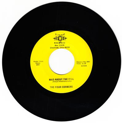 Four Corners - Mad about The Girl / Don't Send Me Away - Jewel 883