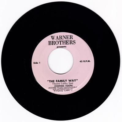 Paul McCartney - The Family Way part 1 / The Family Way part 2 - Warner Brothers lobby A