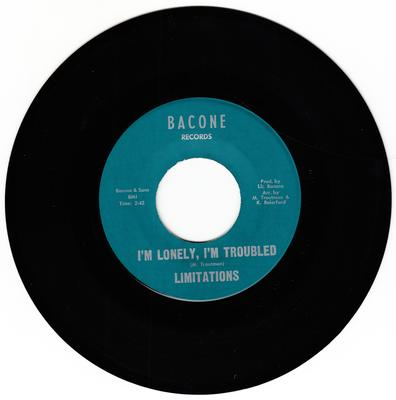 Limitations - I'm Lonely, I'm Troubled / My Baby - Bacone 101