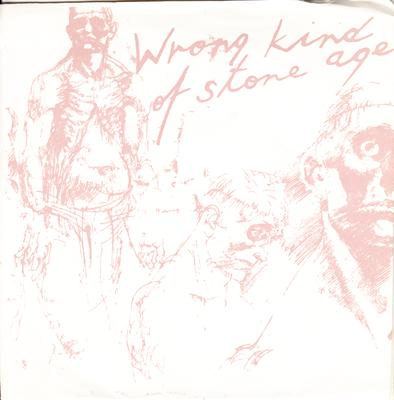 Wrong Kind Of Stone Age - Flying Low To Batavia / 3 track EP with cover  - Wrong Kind Of Stone Age 001