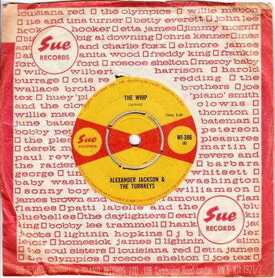 Alexander Jackson & The turnkeys - The Whip / Tell It Like It Is - Sue WI 386