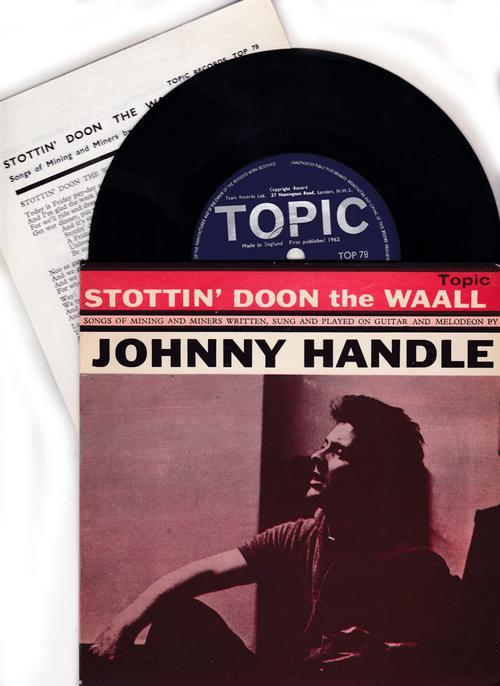 Stottin'doon The Waall/ 1962 Ep Cover + Lyric Sheet