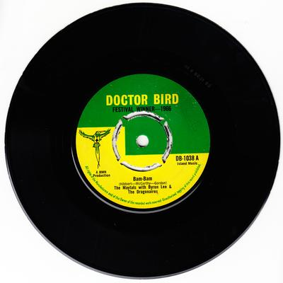 Maytals with Bryon Lee & The Dragonaires - Bam Bam / So Mad In love - Doctor Bird DB 1038