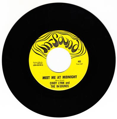 Cindy Lynn and The In-Sounds - Meet Me at Midnight / Sir Gallahad - In-Sound 402