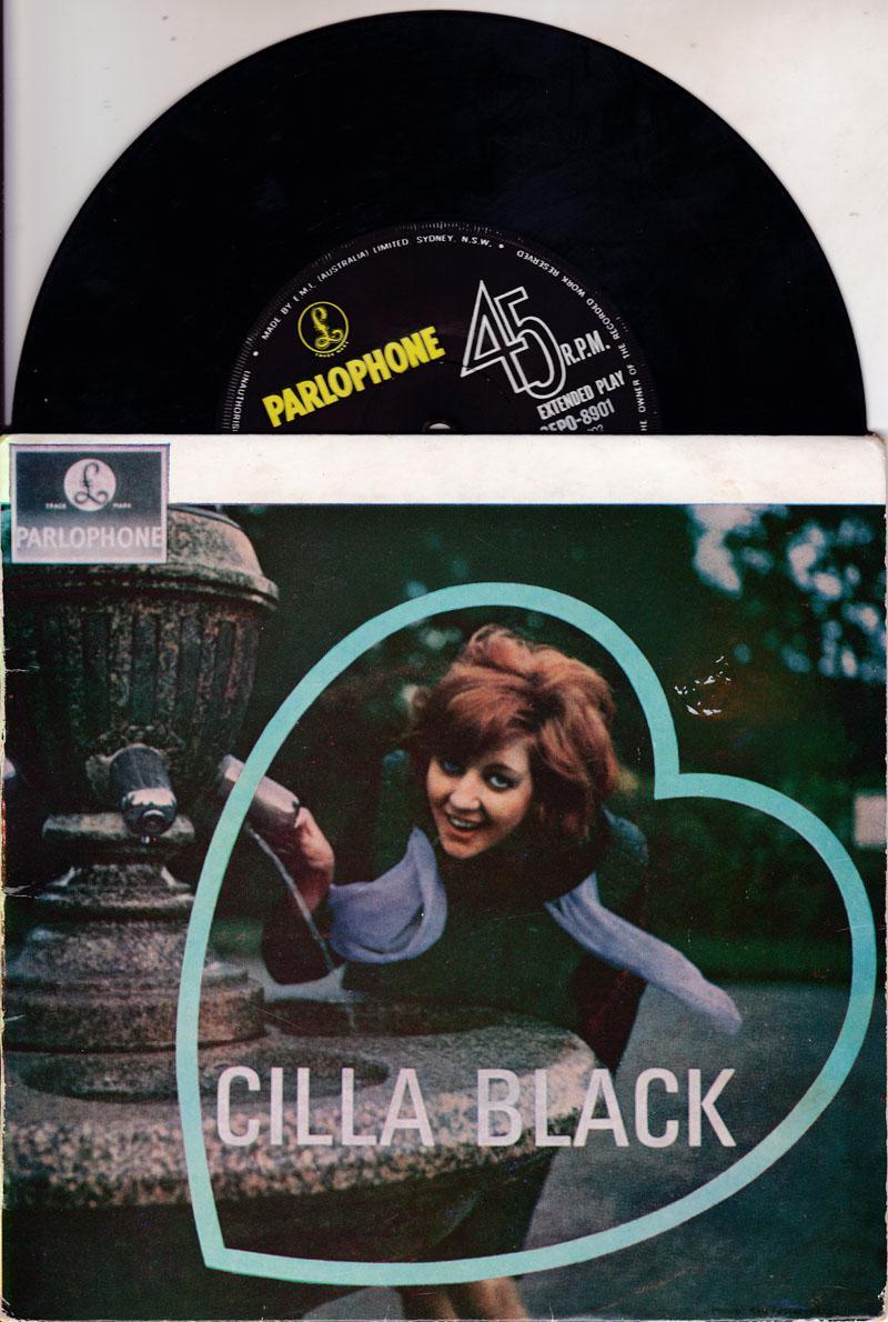 Cilla Black/ 1964 Australian 4 Track Ep