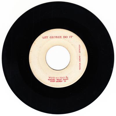 Jackie Wilson - Let George Do It / same - blank no #
