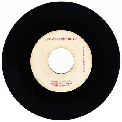 Jackie Wilson - Let George Do It / same - blank no #