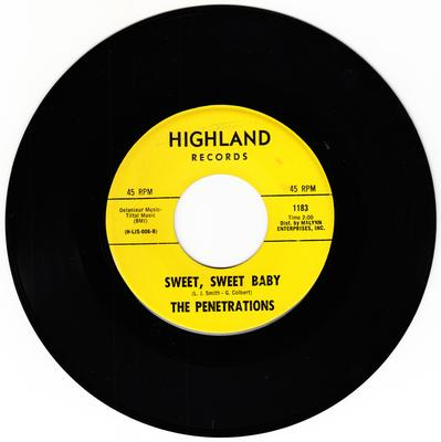 Penetrations - Sweet, Sweet Baby / Champagne (Shing-A-Ling) - Highland 1183
