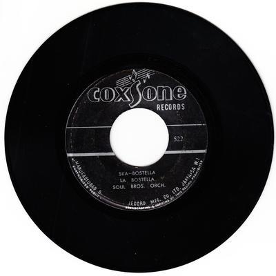 Soul Bros. Orch. c/w Don Drummond - Ska Bostella La Bostella / Looking Through The Window - Coxsone 522