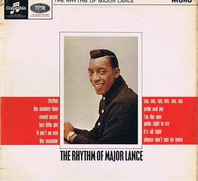 Major Lance - The Rhythm Of Major Lance / 1964 UK press - Columbia 33SX 1728