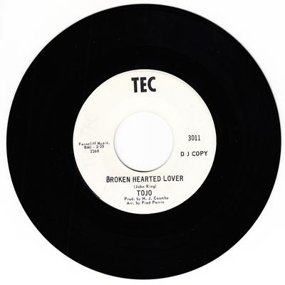 Tojo - Broken Hearted Lover / Blue Lover - Tec 3011 DJ