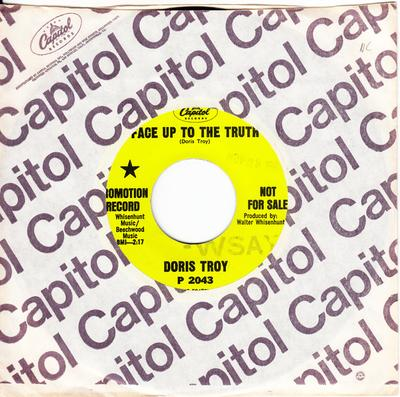 Doris Troy - Face Up To The Truth / He's  Qualified - Capitol P 2043 DJ