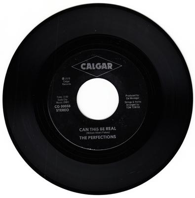 Perfections - Til I Get Home / Can This Be Real  - Calgar CG 0005