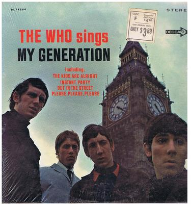 Who - My Generation / 1967 USA stereo press - Decca DL74664