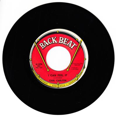 Carl Carlton - I Can Feel It / You've Got So Much (Top Learn About Love ) - Back Beat 617