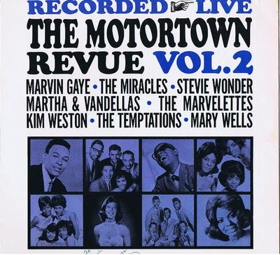 Various Artists - The Motortown Revue Vol. 2 / autographed  by KIM WESTON - Motown 615