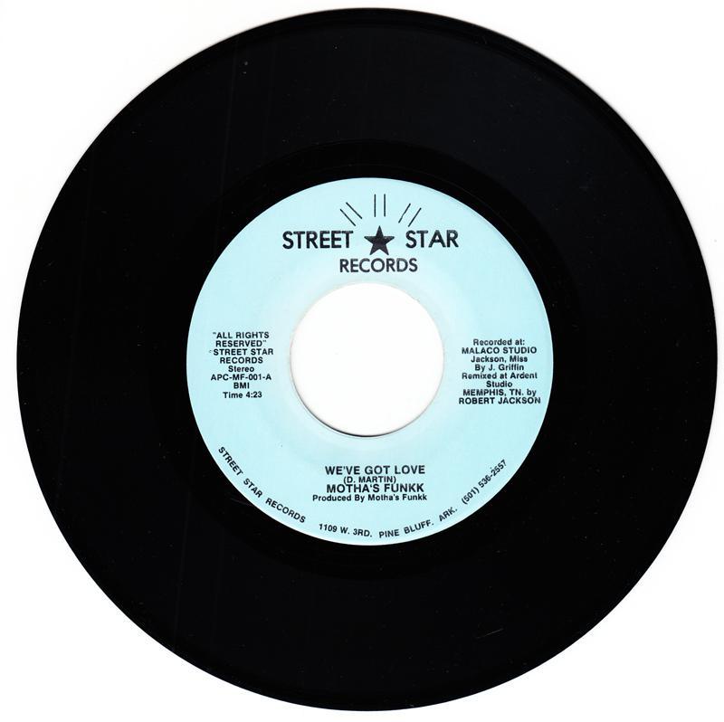 Motha's Funkk - We've Got Love / It's Our Thing - Street Star MF 001