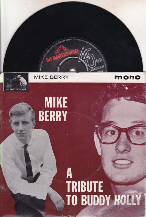 A Tribute To Buddy Holly/ 1963 Uk 4 Track Ep With Cover