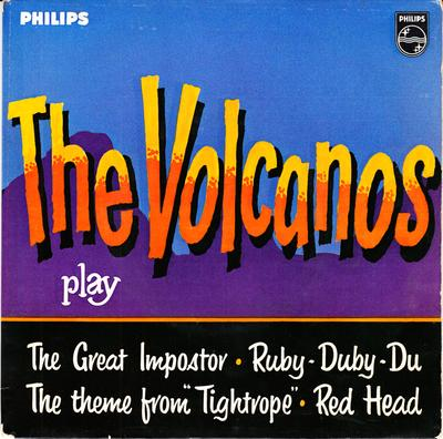 Volcanos - The Volcanos Play / 1961 UK 4 track EP - Philips BBE 12432 EP PS