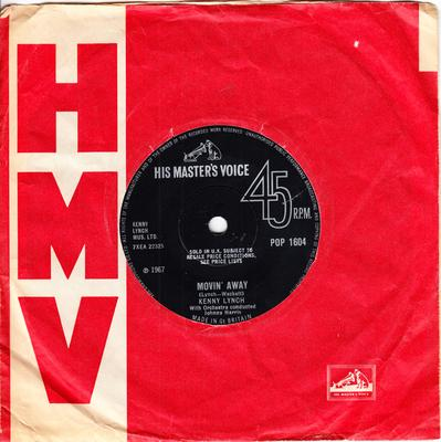 Kenny Lynch - Movin' Away / Could I Count On You - HMV POP 1604