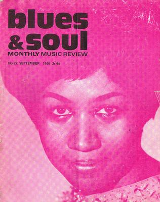 Blues & Soul - Blues & Soul # 22 September 1969 / Aretha Franklin front cover  - Blues & Soul 22