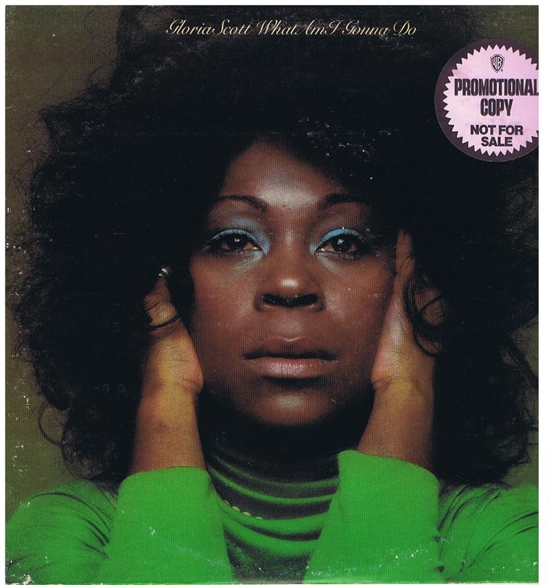 Gloria Scott - What Am I Gonna Do / 1974 USA promo - Casablanca NB 9002 DJ