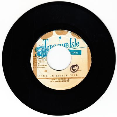 Tommy McCook and the Supersonics - Come On Little Girl / Wall Street Shuffle - Treasure Isle TIS 143