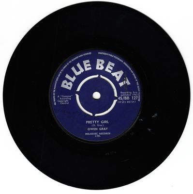 Owen Gray - Pretty Girl / Twist So Fine - Blue Beat BB 127