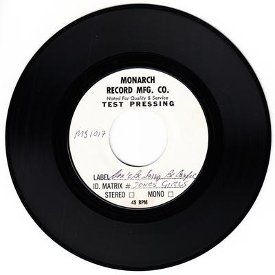 Jones Girls - Don't Be Sorry Be Careful / Taster Of The Honey (Not The Keeper Of The Bee)  - Music Factory MS 1017 test press