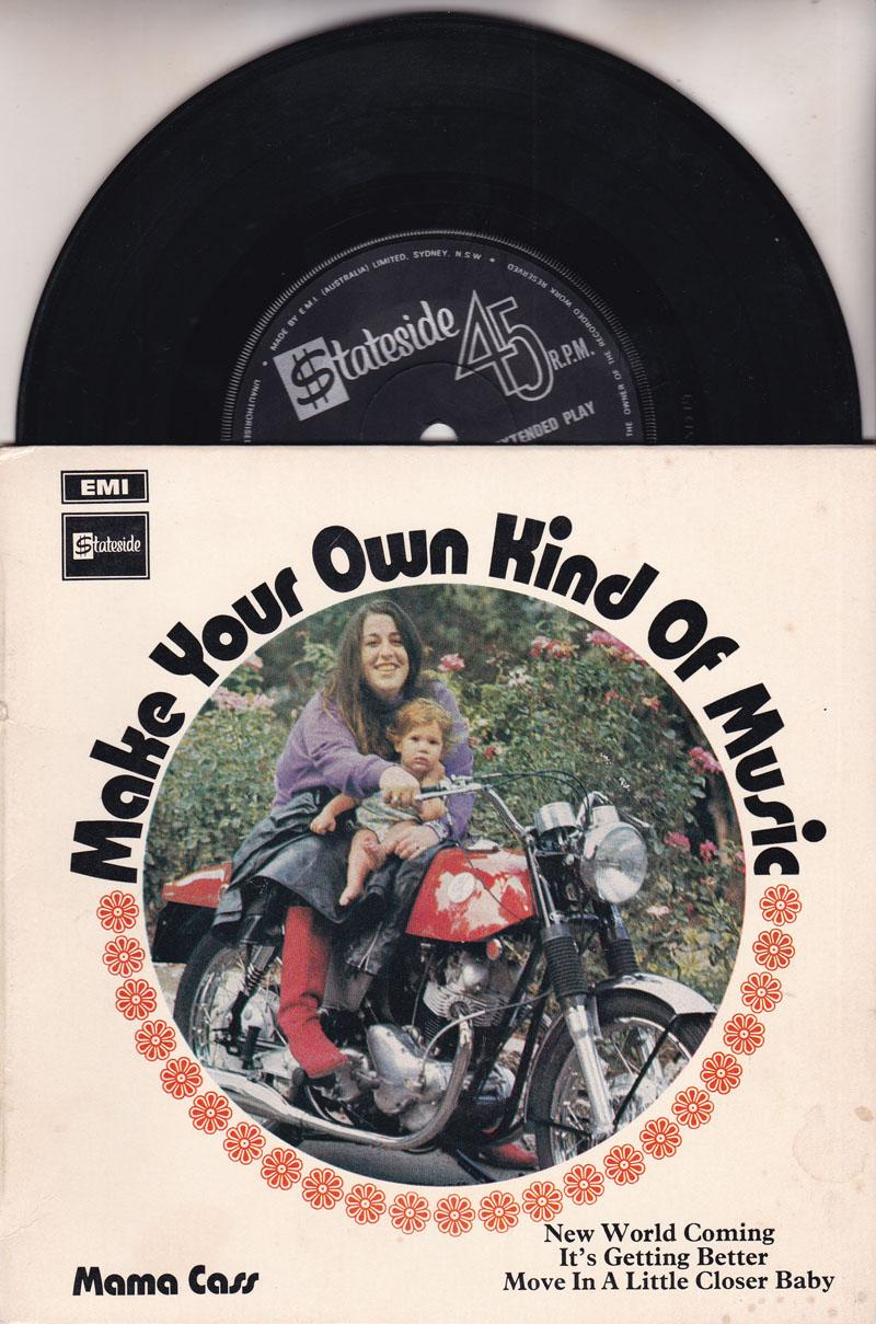 Make Your Own Kind Of Music/ 1969 4 Track Ep With Cover