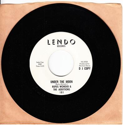Rufus Wonder & The Additions - Under The Moon / So Upset - Lendo 181 DJ