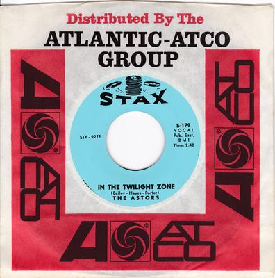 Astors - In The Twilght Zone - Mystery Woman - Stax S-179