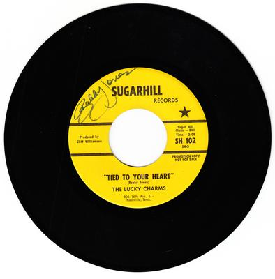 Lucky Charms  Tied To Your Heart / Love Is A Melody - Sugarhill SH 102
