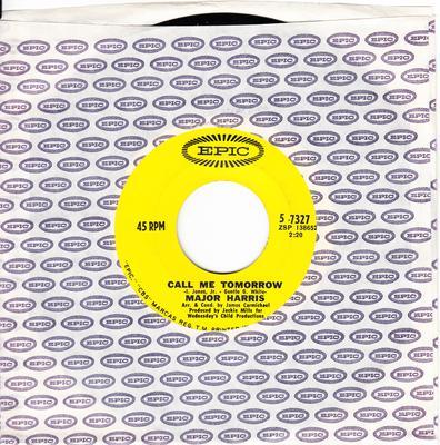 Major Harris - Call Me Tomorrow / Like a Rolling Stone - Epic 5-327 Canada