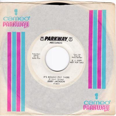 Jerry Jackson - It's Rough Out There / I'm Gonna Paint A Picture - Parkway P 100 DJ