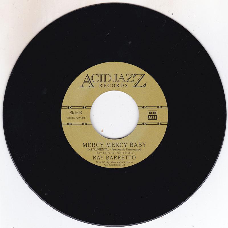 Mercy Mercy Baby/ Same: Instrumental