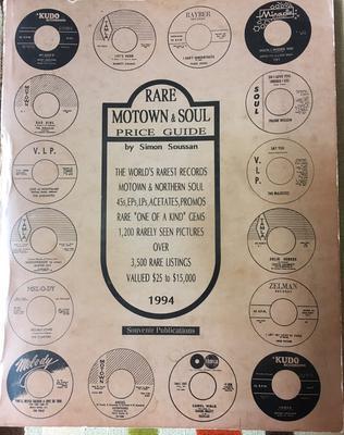 Simon Soussan - Rare Motown & Soul Price Guide / 1994 Motown/Northern Soul guide - Souvenir 1994