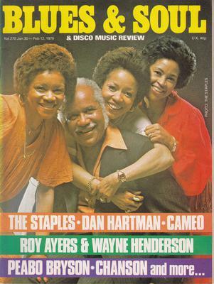 Image for Blues & Soul 270/ January 30 1979