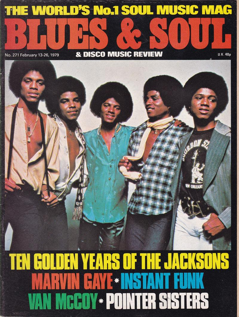 Blues & Soul 271 - Jacksons Special/ February 13 1979
