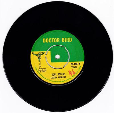 Lester Sterling c/w Alva Lewis - Soul Voyage / Revelation - Doctor Bird DB 1107
