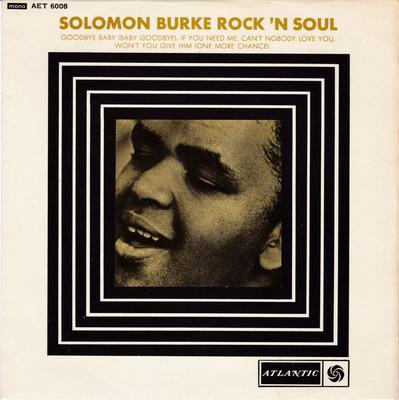 Solomon Burke - Rock N' Soul - Atlantic AET 6008 EP PS