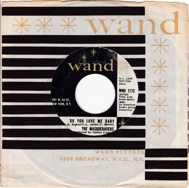 Masqueraders - Do You Love Me Baby / Sweet Lovin' Woman - Wand PROMO
