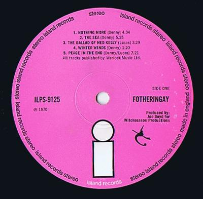 Fotheringay - Fotheringay - Island ILPS 9125