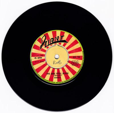 Dandy - We Are Still Rude / Let's Do Rock Steady - Giant 7